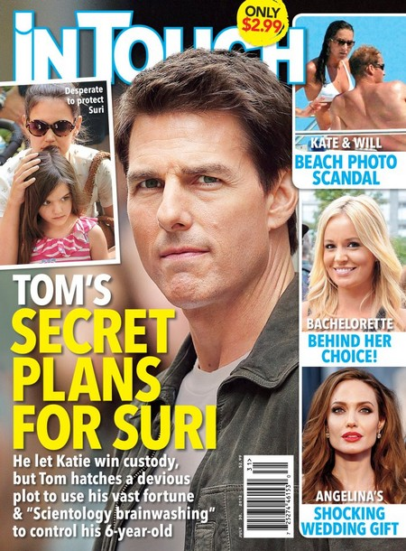 Tom Cruise's Devious Plan For Suri Revealed!