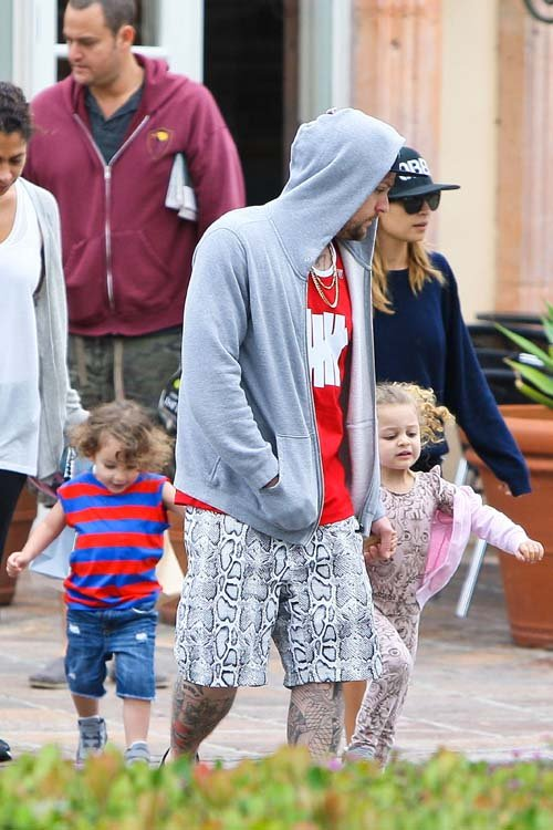 Nicole Richie's Family Independence Day Breakfast