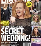 First Baby Bump Photos Of Adele (Photo)