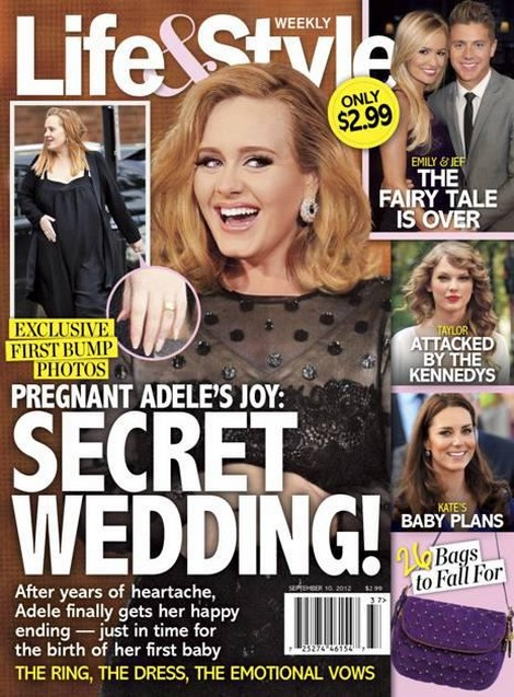 First Baby Bump Photos Of Adele Revealed (Photo)