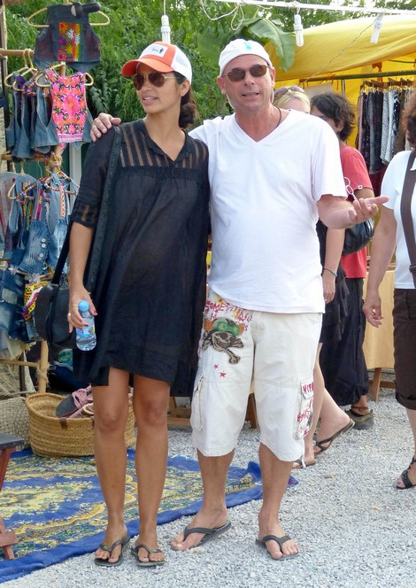 Camila Alves and Her Baby Bump On Vacation In Ibiza Enjoys A Day Shopping