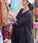Camila Alves Shops At The Hippie Market