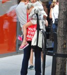 Katie Holmes And Suri Visit The MOMA