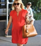 Exclusive... Pregnant Reese Witherspoon Leaving A Medical Building