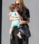 Rachel Zoe And Son Skyler Out And About In West Hollywood
