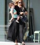 Rachel Zoe And Son Skyler Doing Errand In West Hollywood