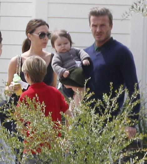 David Beckham and Victoria Beckham DENY They are Adopting!
