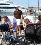 Elton John and Neil Patrick Harris Join Families In Saint-Tropez 0803