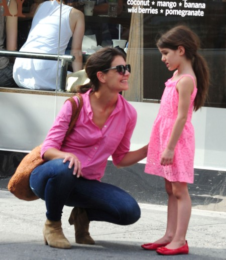 Katie Holmes Enrolls Suri Cruise In $40K A Year World School 0803