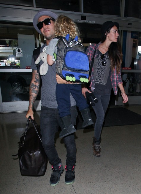 Peter Wentz And Meagan Travel WIth Bronx