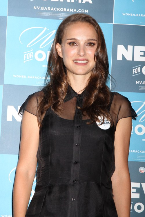 'Black Swan' actress Natalie Portman speaks at the Nevada Women's Summit in Las Vegas, Nevada on August 25th, 2012.