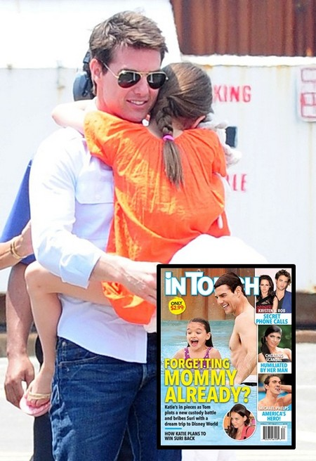 Is Suri Cruise Forgetting Mommy Katie Holmes Already? (Photo)