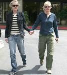 Ellen Degeneres and Portia De Rossi out at the Brentwood Glen Market Place in Los Angeles, CA 04-15-07 Los Angeles, CA