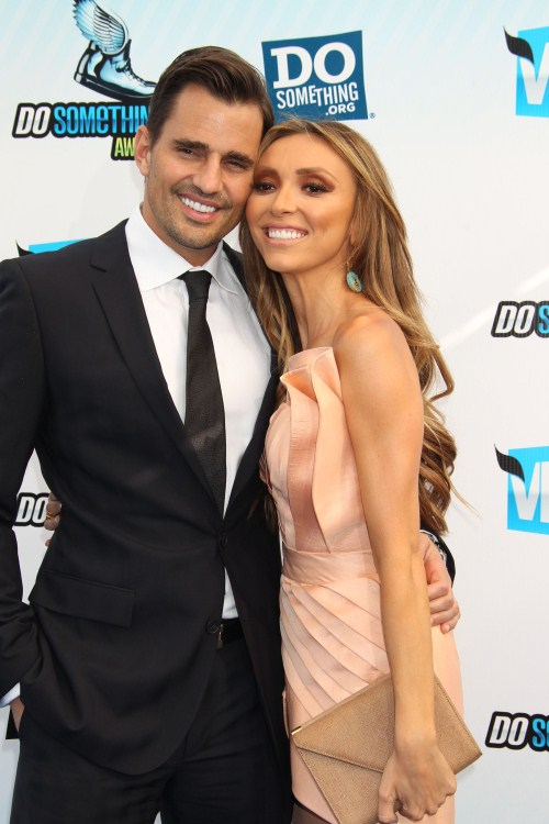 Bill Rancic and Giuliana Rancic at the 2012 Do Something Awards on August 19, 2012 in Santa Monica, California.