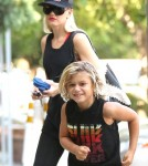 Singer turned designer Gwen Stefani and her son Kingston were out and about in Sherman Oaks, California on August 30, 2012.