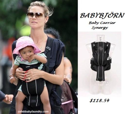 Celeb Baby Style: Baby BJORN - Lou Sulola Samuel - Heidi Klum