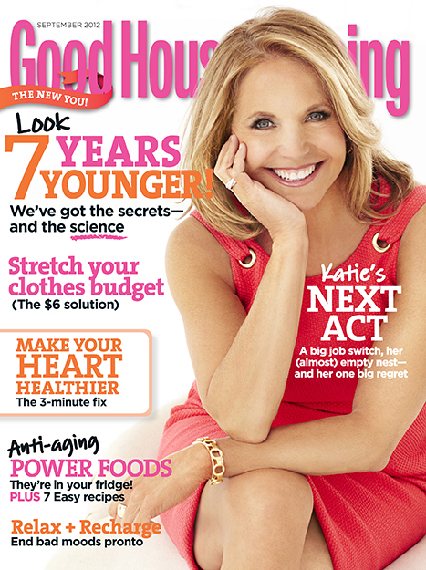 Katie Couric in Good Housekeeping