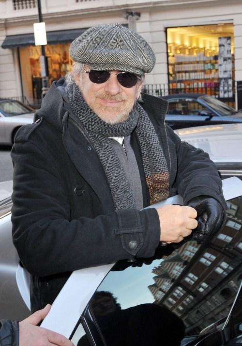 Steven Speilberg Out In London
