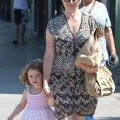 Alyson Hannigan and daughter Satyana were out for a day of shopping and smoothies in Santa Monica, California on September 16, 2012.