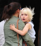 Naomi Watts and sons Alexander and Samuel spotted out and about in New York City, New York on September 11, 2012.
