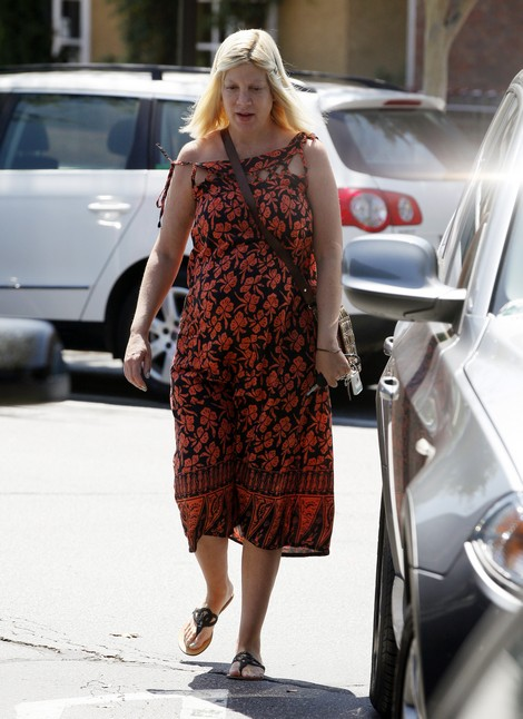 Tori Spelling Finally Home After Emergency Hospital Stay