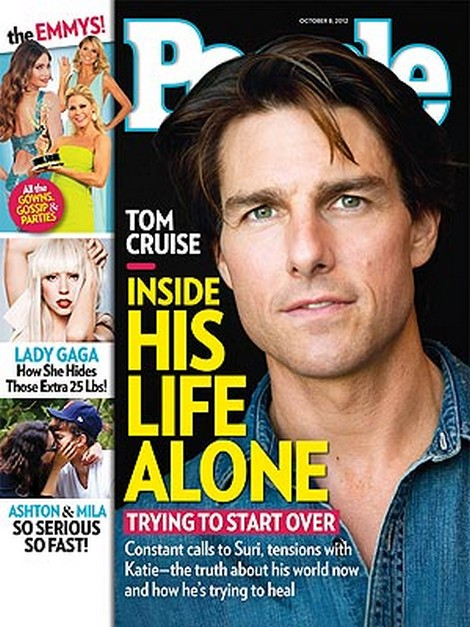 People Magazien: Inside Tom Cruise's Life Alone