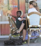 Jillian Michaels Having Lunch With Daughter Lukensia