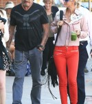 Johnny Hallyday, wife Laeticia and children Joy and Jude in Los Angeles