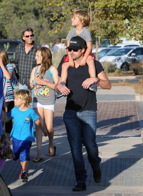 """""""Grey's Anatomy"""" actor Patrick Dempsey enjoyed a day at ..."""