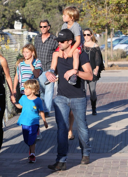 Greys Anatomy Actor Patrick Dempsey Enjoyed A Day At The Fair With