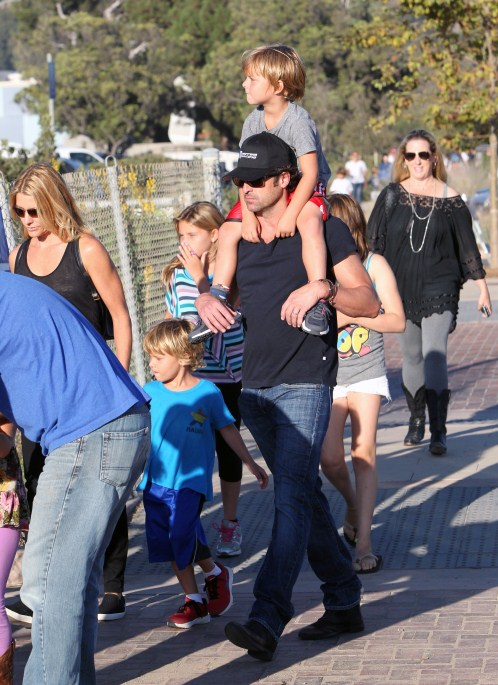 Patrick Dempsey Family 2014