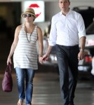 Reese Witherspoon And Husband Jim Toth Leaving Hospital After Check-up