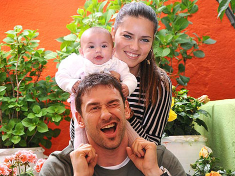 Breaking News: Adriana Lima Has A Baby Girl!