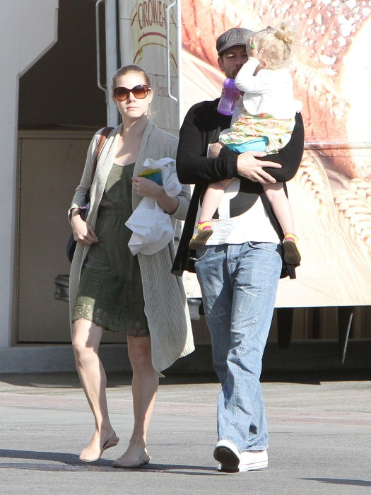 Amy Adams Enjoys Family Day Out In Beverly Hills
