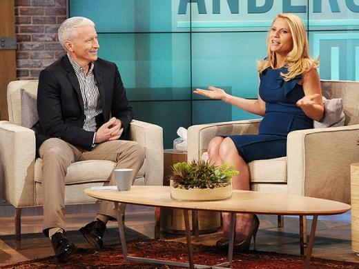 Claire Danes On Anderson Cooper Live