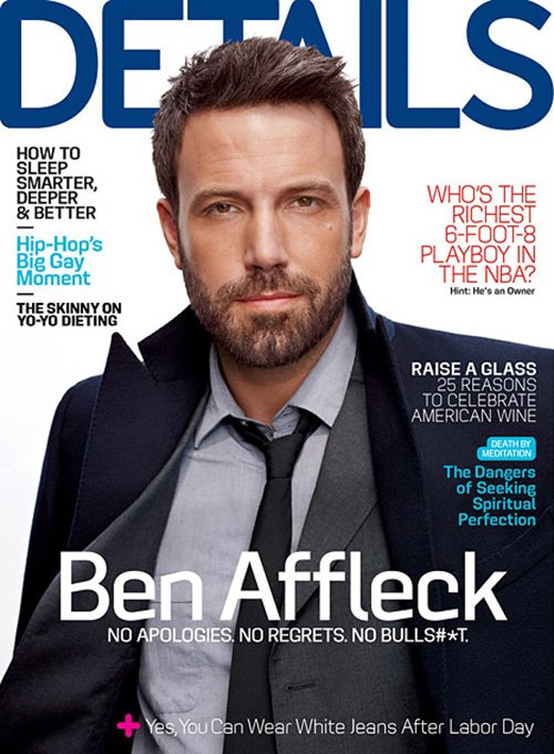 Ben Affleck Details Magazine October 2012