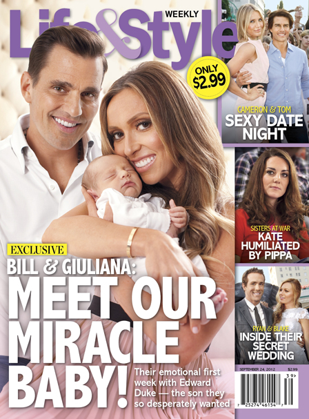 Meet Bill and Giuliana Rancic's New Son Edward Duke (Photo)