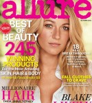 Blake Lively Allure October 2012
