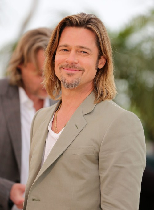 "Brad Pitt at the ""Killing Them Softly"" Photocall during the 65th Annual Cannes Film Festival at Palais des Festivals on May 22, 2012 in Cannes, France."