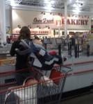 car seat shopping cart