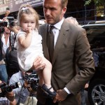 Victoria & David Beckham Dine With Harper After Fashion Show