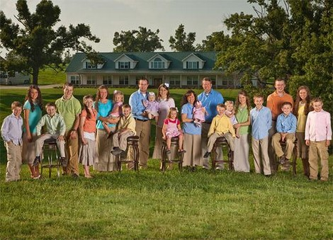 Who Knew? The Duggars, Their 19 Children and Kirk Cameron Are BFF's!