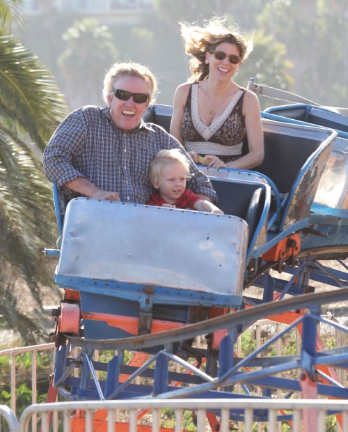 Gary Busey's Roller Coaster Day With Family