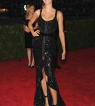 Gisele Bundchen at the 'Schiaparelli And Prada: Impossible Conversations' Costume Institute Gala at the Metropolitan Museum of Art on May 7, 2012 in New York City, NY.