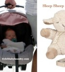 Celeb Baby Style: Haven Garner Warren Sleeps With A Cloud B Sleep Sheep