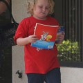 "Reality TV star Alana Thompson aka 'Honey Boo Boo' signs up for another pageant in Dublin, GA with her mother June ""Mama"" Shannon, and their bodyguard on September 8th, 2012. Reality TV star Alana Thompson aka 'Honey Boo Boo' signs up for another pageant in Dublin, GA with her mother June ""Mama"" Shannon, and their bodyguard on September 8th, 2012."