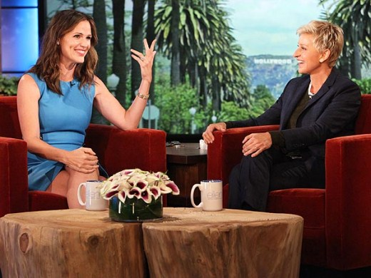 Jennifer Garner on Ellen