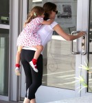 'The Odd Life Of Timothy Green' actress Jennifer Garner takes her daughter Seraphina to the police station in Santa Monica, California on September 10, 2012.