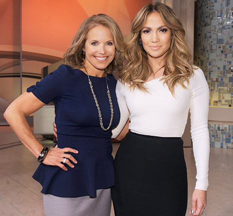 Jennifer Lopez on Katie Couric