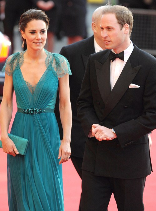 "Catherine, Duchess of Cambridge and Prince William, Duke of Cambridge, arrive at ""Our Greatest Team Rises - BOA Olympic Concert,"" held at the Royal Albert Hall in London, England, UK. on May 11, 2012."